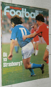 FRANCE FOOTBALL 1750 23/10 1979 EUROPE STRASBOURG NANTES SAINT-ETIENNE MONACO