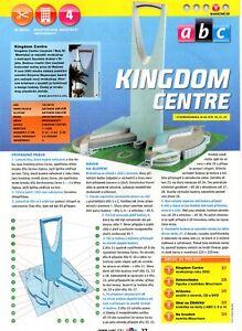 Skyscraper  Kingdom Centre Czech Paper Model 1 : 1250