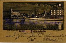 Mondscheinkarten Architektur/Bauwerk Ansichtskarten vor 1914 aus den ehemaligen deutschen Gebieten