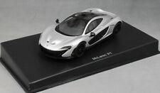 Autoart McLaren P1 in Ice Silver 56013 1/43 NEW