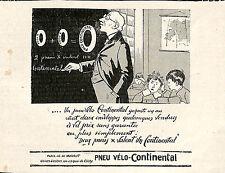 92 CLICHY PNEUS VELO BICYCLETTE CONTINENTAL PUBLICITE 1910
