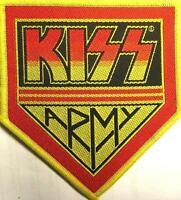KISS AUFNÄHER PATCH # 34 KISS ARMY 10x9cm FLICKEN ABZEICHEN