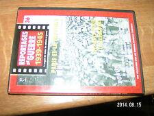 Reportages de guerre 1939-1945 DVD n°36 Allemands en Bretagne Liberation Paris