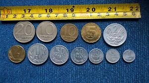 Ł-JOB LOT OF FOREIGN / Poland Coins > People's Republic