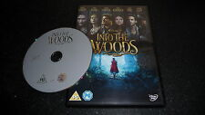DISNEY : INTO THE WOODS DVD - FAST/FREE POSTING.