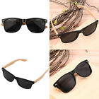 Bamboo Sunglasses Wooden Wood Mens Womens Retro Vintage Summer Glasses UF