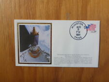 VINTAGE USA COLORANO SILK ILLUSTRATED SPACE FDC - TDRS-E 42nd MISSION