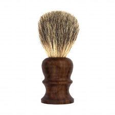 100% puro húmeda de pelo de tejón brocha de afeitar Real Roble Madera RASIERPINSEL Blaireaux