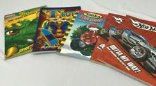 Boys Coloring and Activity Books Hotwheels Tonka T Bots Dinosaurs 5 books