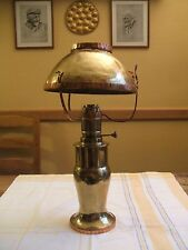 Exceptionnelle LAMPE à PETROLE/Artisanat de tranchées/1ère guerre mondiale 14-18