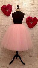 tulle pink mesh skirt net bridesmaid wedding hen night vintage princess carrie