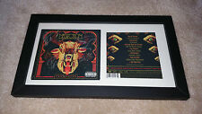 MASTODON The Hunter SIGNED AUTOGRAPHED FRAMED CD DISPLAY #C