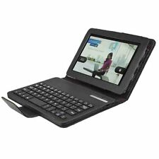 Amazon Kindle Fire Hd Cuero Genuino Desmontable Teclado Caso Con Soporte