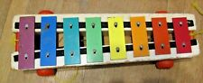 tg Plastic, Metal, Wood Music Toy FISHER PRICE 1964 Pull-A-Tune Xylophone (1)