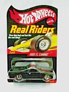 Hot Wheels Redline Club RLC Series 8 Real Riders 1980 El Camino 4003/7500