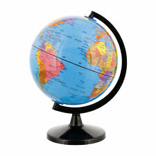 "6"" Inch (14.2cm) Blue Ocean Rotating Desktop World Earth Globe"