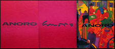 Manel Anoro Hand Signed BOOK w/Hard Cover Los Colores Del Mediterraneo SINGED