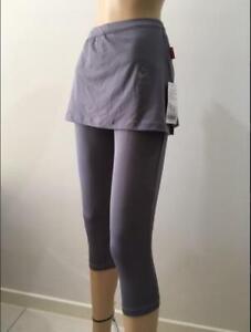 BAIWU 3/4 sports gym fitness pants shorts leggins skorts Ladies Women S