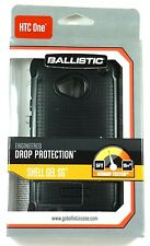 SG1134-A065 BALLISTIC HTC One SG Case (Black), Retail packing