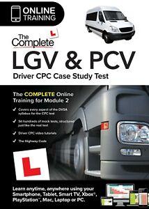 The Complete LGV & PCV Driver CPC Case Study Tests 2021 (Mod 2) Online Edition