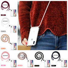 Cross Body Clear Case Neck Lanyard For iPhone 11 Pro Max XS XR 8 7 Plus SE 2nd 5