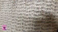 Home Decor Heavy Upholstery Grey Textured Stripe Fabric by the Yard