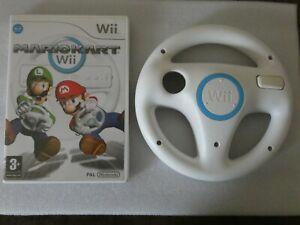 mario kart + volant - Jeu Nintendo Wii (FR) - PAL - avec notice
