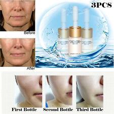 3pcs Hydratant Anti-âge Ride Liquide Lift Crème Visage Acide Hyaluronique Serum