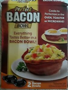 Perfect BACON BOWL 2 Pc As Seen On TV NEW in box