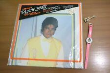 VTG Michael Jackson Mini Rock Art Poster Tapestry Pink Digital Watch Guitar Pin