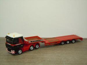 Daf 95 XF Truck & Trailer Mammoet - Promotoys WSI 1:87 *49604