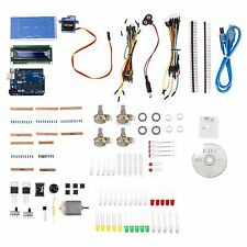 UNO R3 Small Starter Kit for Arduino Beginner LCD Motor Servo LED Breadboard USA