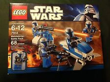 New in Box Lego  STAR WARS,  Mandalorian Battle Pack 7914