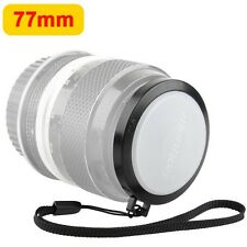 hot 77mm White Balance Lens Cap with Filter Threads mount for all 77mm DSLR