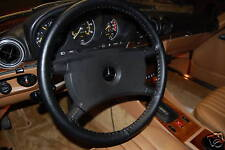 BMW Genuine Leather Steering Wheel Cover - Custom Sized - You Pick Color