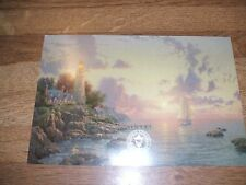 "1998 Thomas Kinkade dealer preview card  ""The Sea of Tranquility"""
