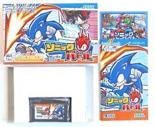 SONIC BATTLE Game Boy Advance GBA Japan