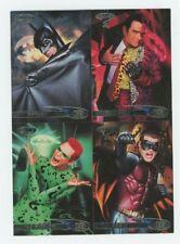 1995 Fleer Target Ultra Batman Promo Uncut Sheet Two-Face The Riddler Robin