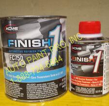 Finish1 FC 750 2.1 VOC satin finish clear coat acme sherwin williams auto paint