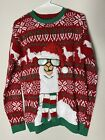Ugly Christmas Xmas Sweater Long Sleeve Size Small Unisex