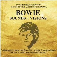 """David Bowie - Sounds + Visions - Gold Vinyl 10"""" X 2"""