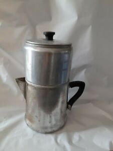 9 cup Vintage drip O Lator Camping Coffee Pot great condition