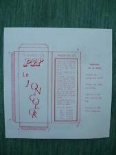 """Rare gadget du PIF-GADGET n° 32 """" Le JONCOLOR"""" - Septembre 1969"""