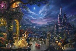 Thomas Kinkade - The Disney Collection - Beauty and The Beast Dancing in The