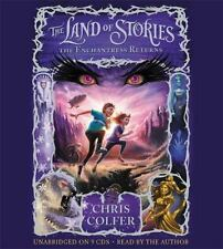 The Land of Stories: The Enchantress Returns Bk. 2 by Chris Colfer (2013, CD, Un