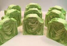 Handmade All Natural Healthy Soaps-Avocado Cucumber