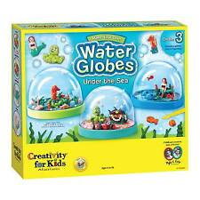 Creativity for Kids Water Globes Craft Make Your Own Under The Sea Create 3