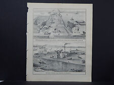 Wisconsin Engravings 1881 DePere Famous Men L23#54
