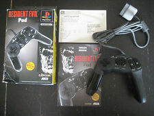 Resident Evil Pad Biohazard 2 ASCII Capcom Controller PlayStation 1 One PS1 Box