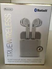 SENTRY  BT989W Bluetooth True Wireless Earbuds Premium Sound iPhone Compatible